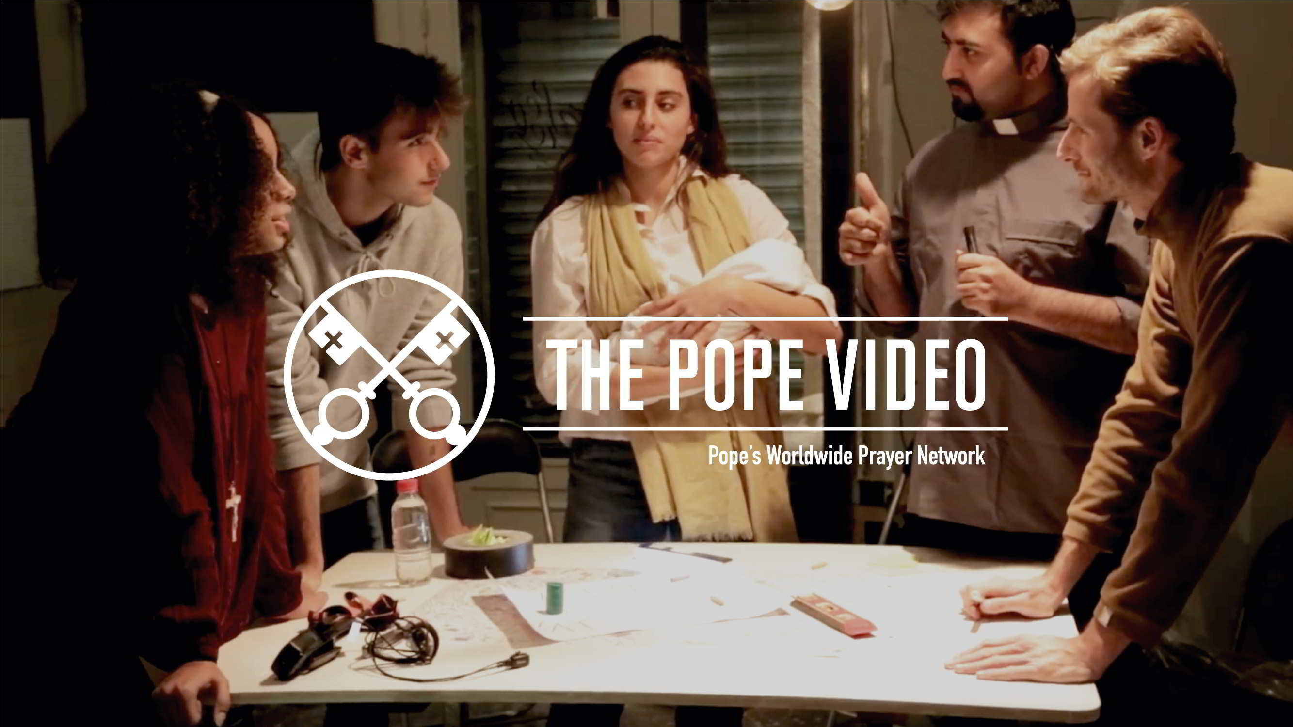 Official Image - TPV 12 2018 - 1 EN - The Pope Video - In the service of the transmission of faith