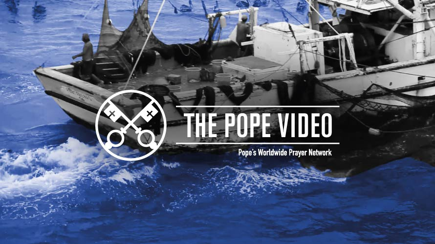 Official Image TPV 8 2020 EN - The Pope Video - The maritime world