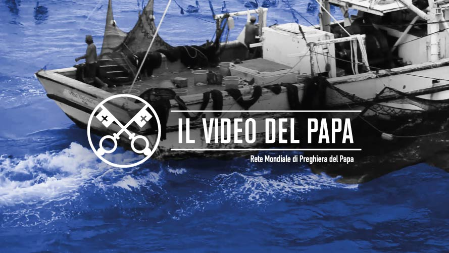 Official Image TPV 8 2020 IT - Il Video del Papa - Il mondo del mare