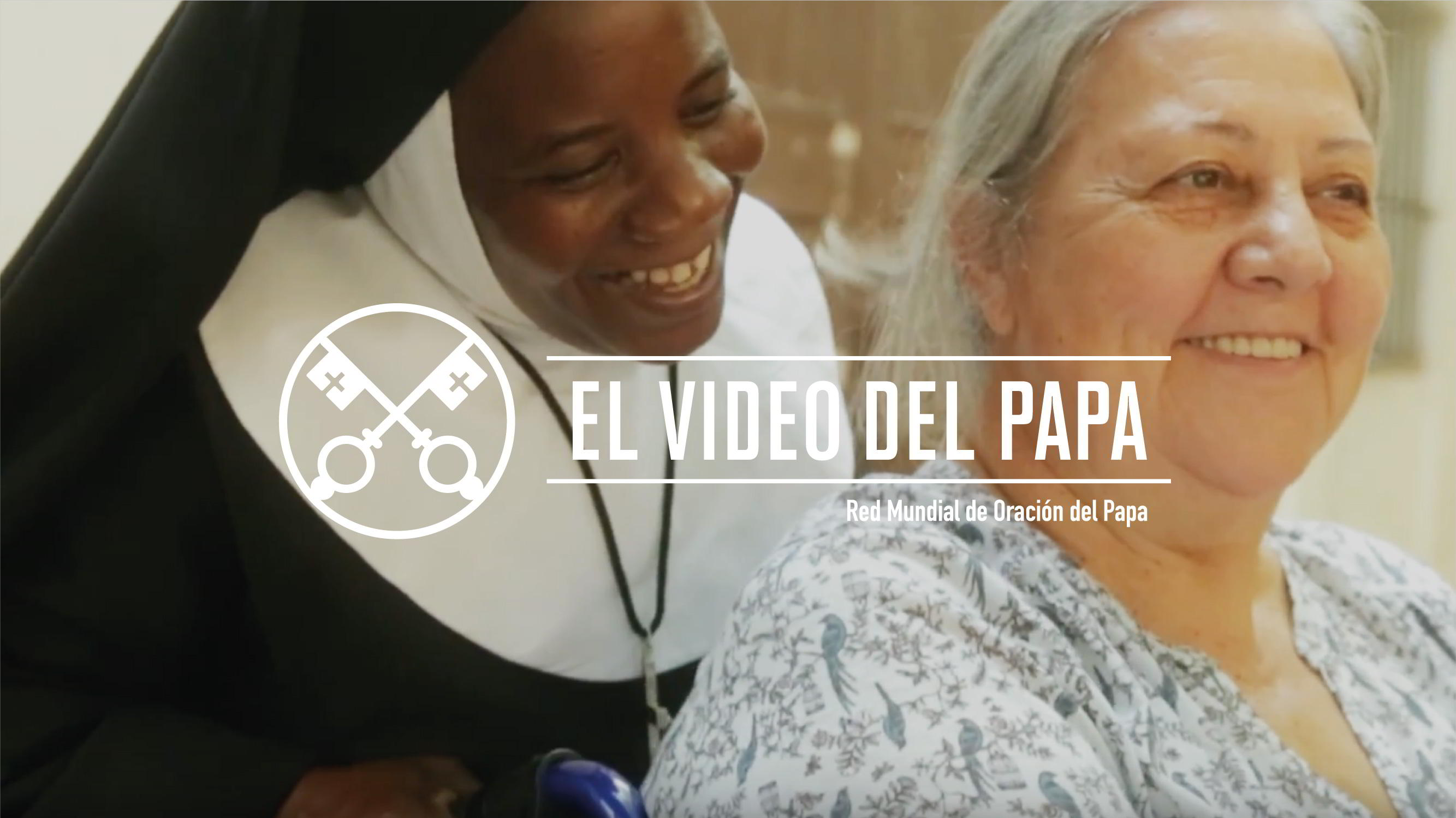 Official Image - The Pope Video 10 2018 - Mission of Religious - 2 Spanish
