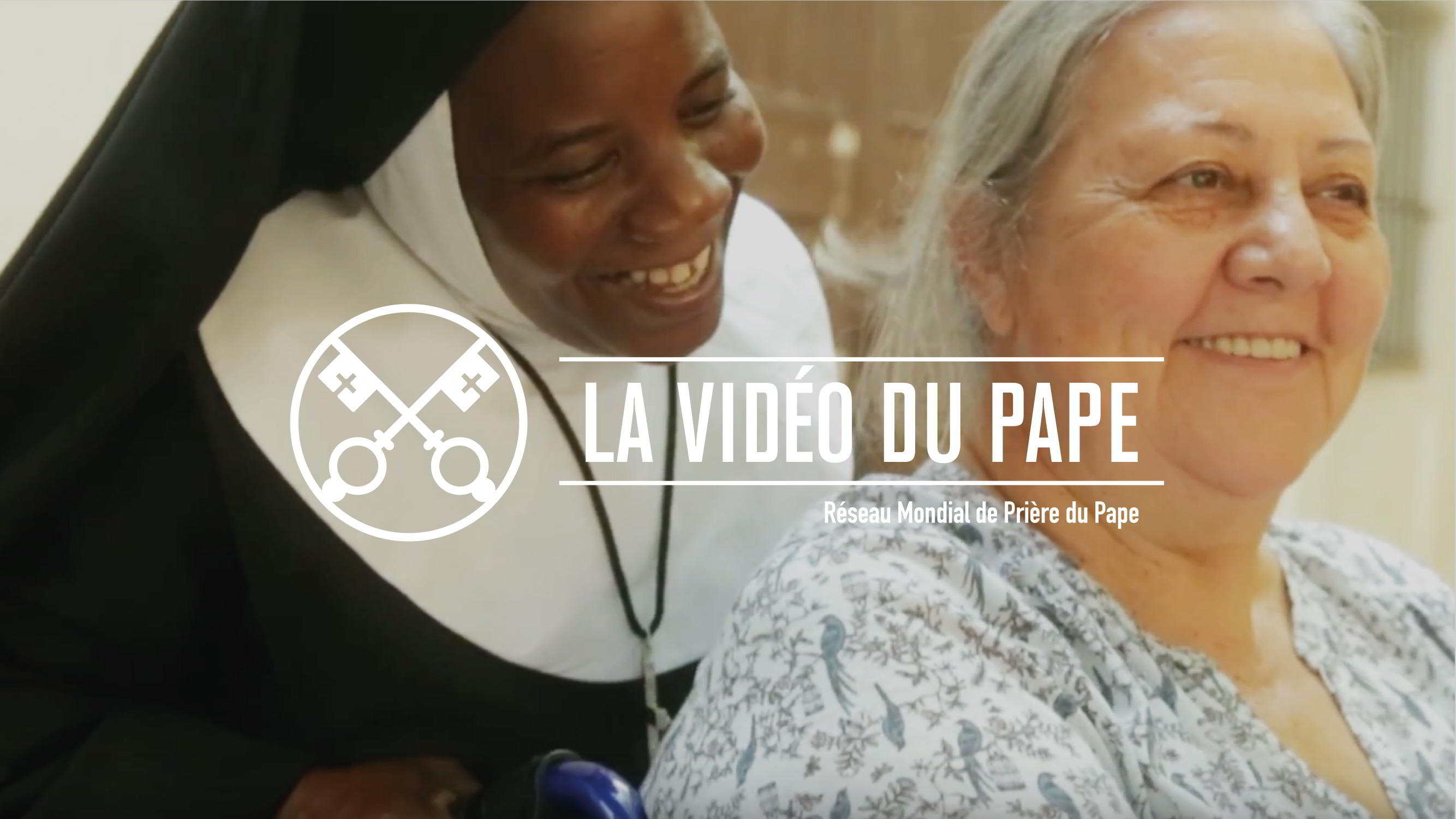 Official Image - The Pope Video 10 2018 - Mission of Religious - 4 French