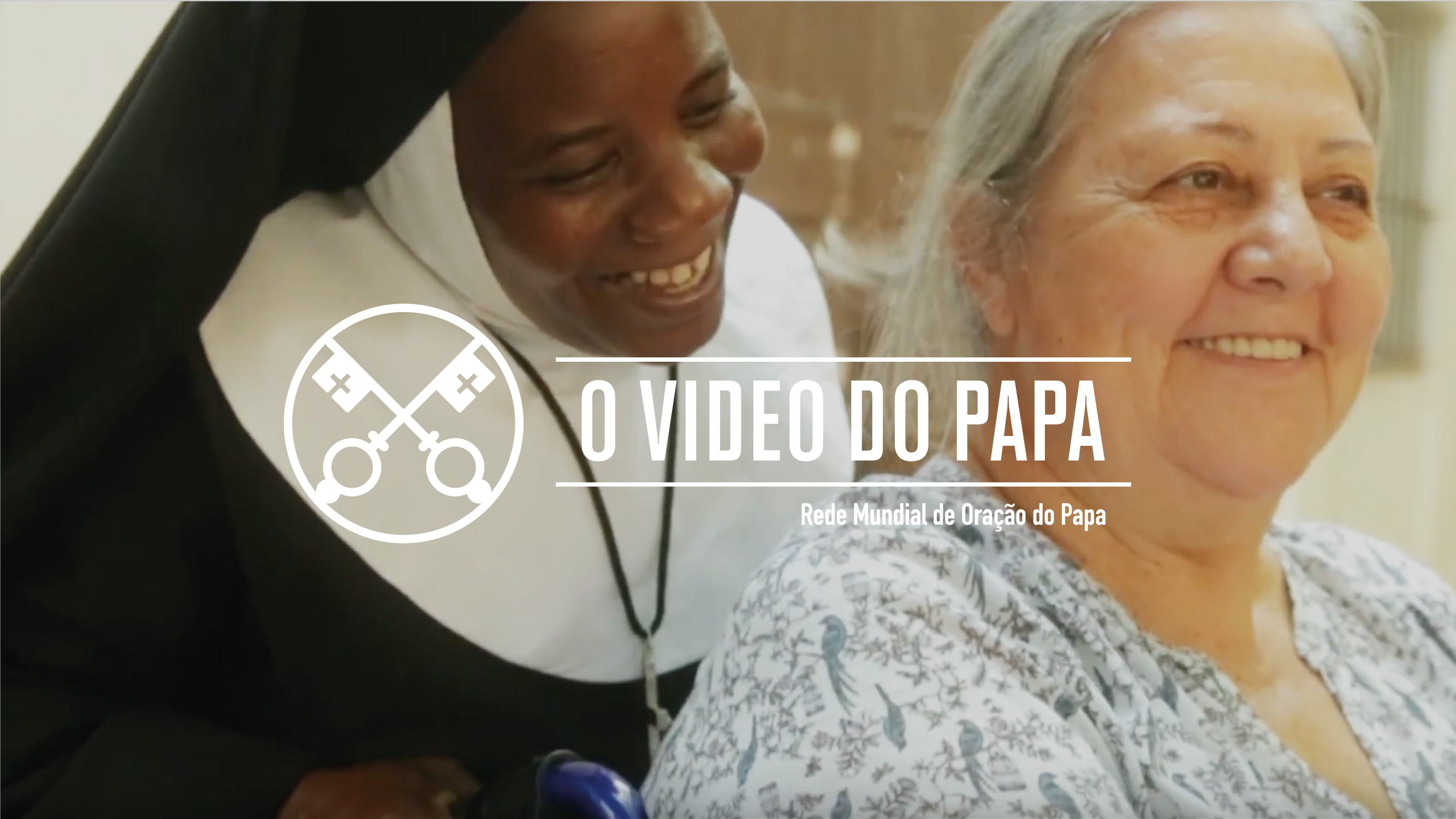 Official Image - The Pope Video 10 2018 - Mission of Religious - 5 Portuguese