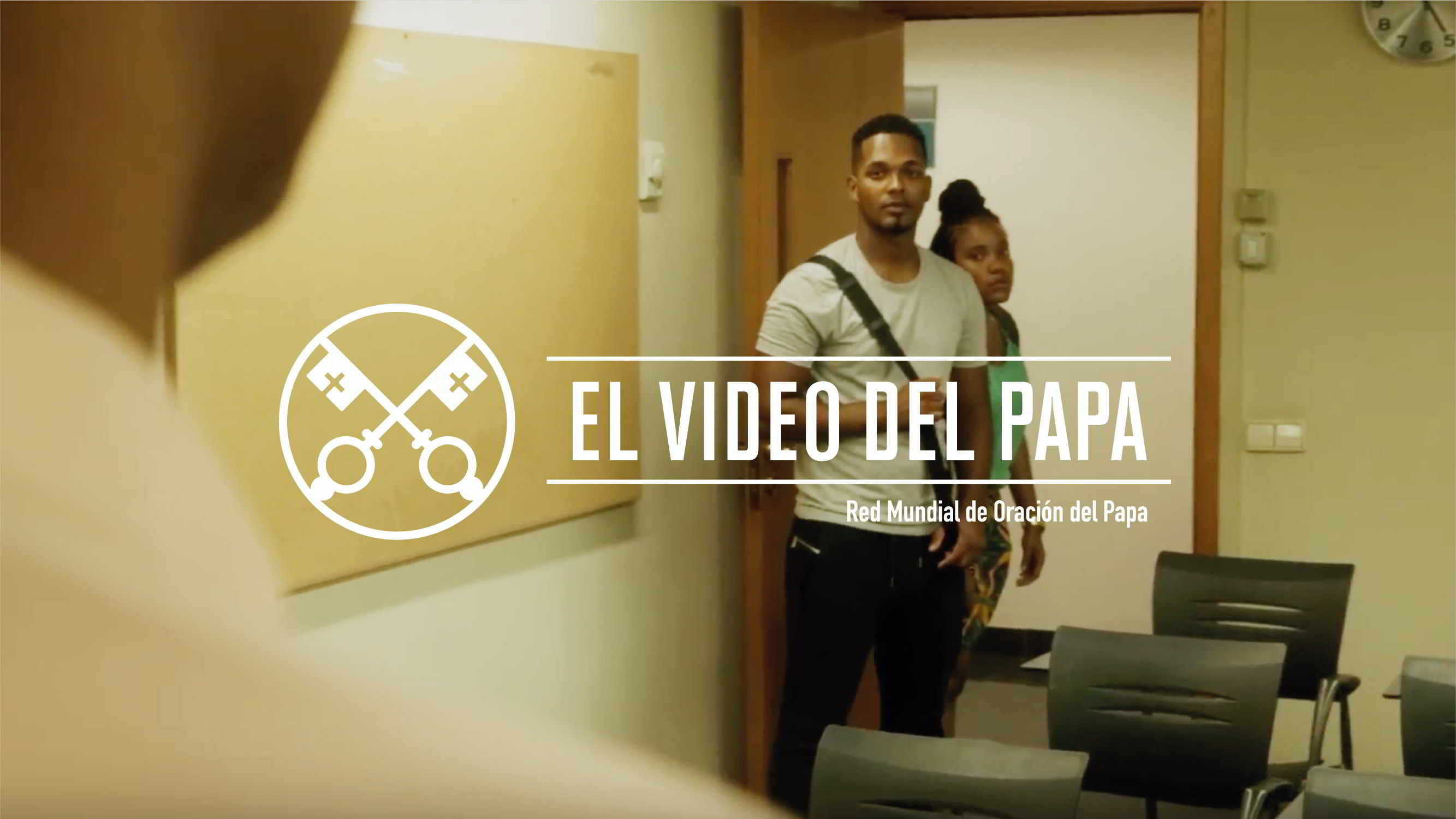 Official Image - The Pope Video 9 2018 - Young People in Africa - 2 Spanish