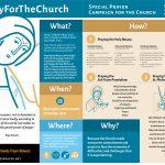 Booklet - PrayForTheChurch - ENGLISH