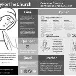 Booklet - PrayForTheChurch - ITALIAN ByN