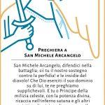 Estampa San Miguel Arcángel - PrayfortheChurch - ITALIAN