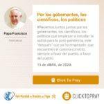 por los gobernantes, los científicos, los políticos click to pray