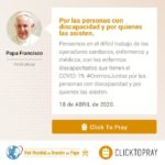 Por las personas con discapacidad y por quienes las asisten Click To Pray