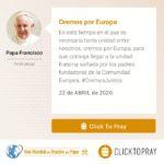 Oremos por Europa Click To Pray