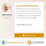 Los servicios funerarios Click To Pray