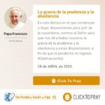 La gracia de la prudencia y la obediencia Click To Pray