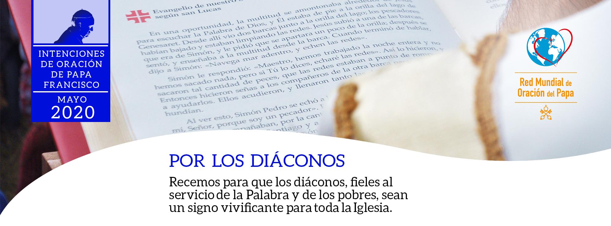 por los diáconos red mundial de oración del papa