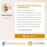 jornada de las enfermeras y enfermeros click to pray
