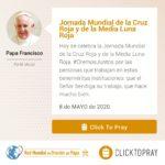 jornada mundial de la cruz roja y de la media luna click to pray