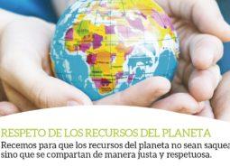 respeto recursos red mundial papa francisco