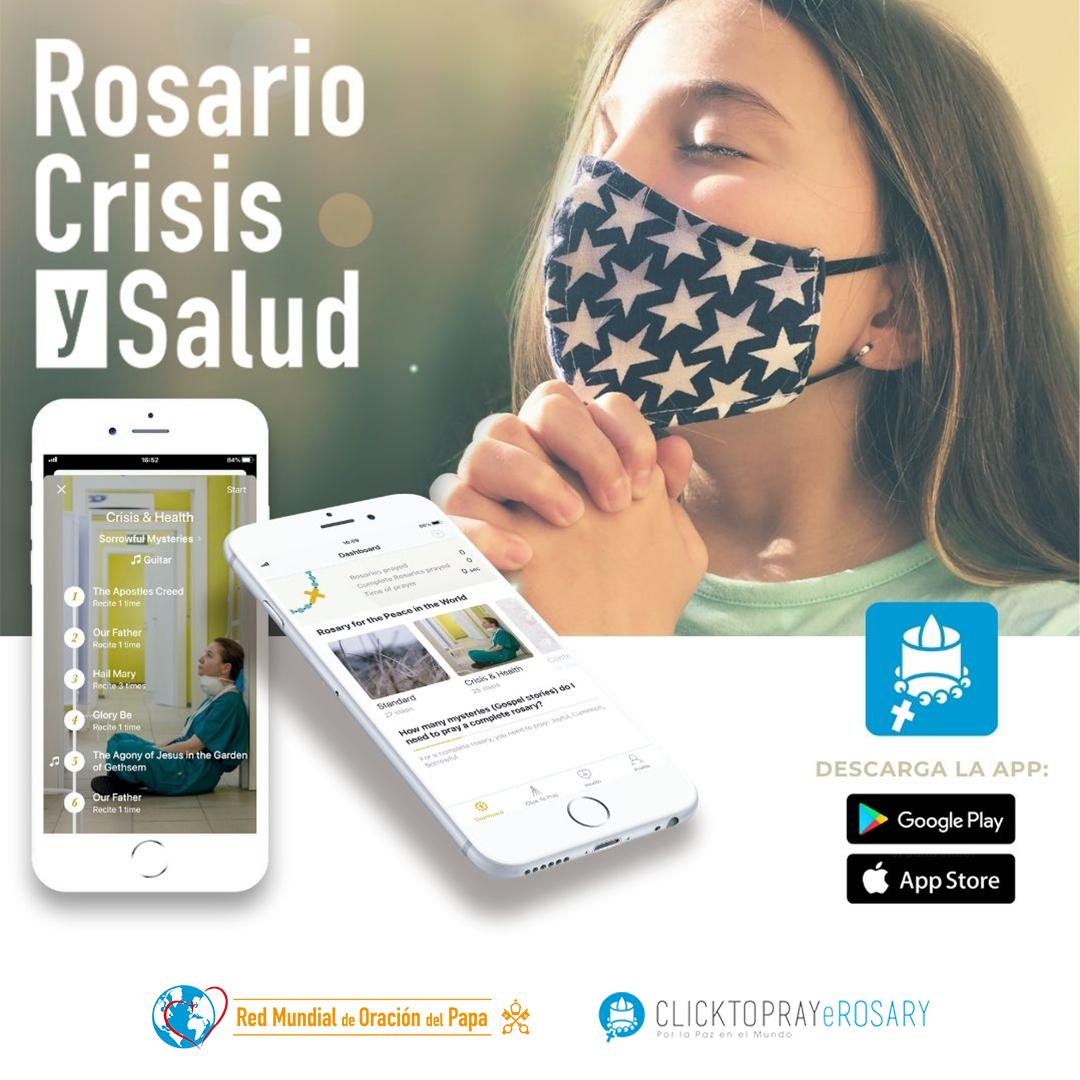 Rosario Crisis y Salud Red Mundial de Oracion del Papa