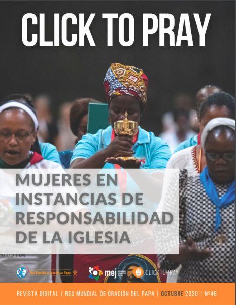 click to pray mujeres en instancias Red Mundial de Oración del Papa