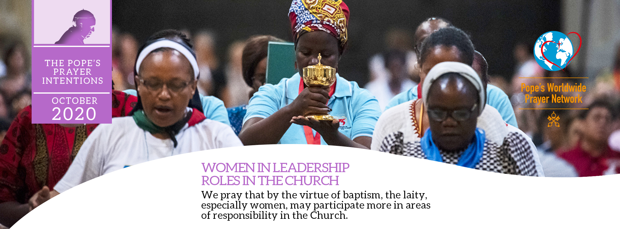 the pope's prayer intentions october 2020 women