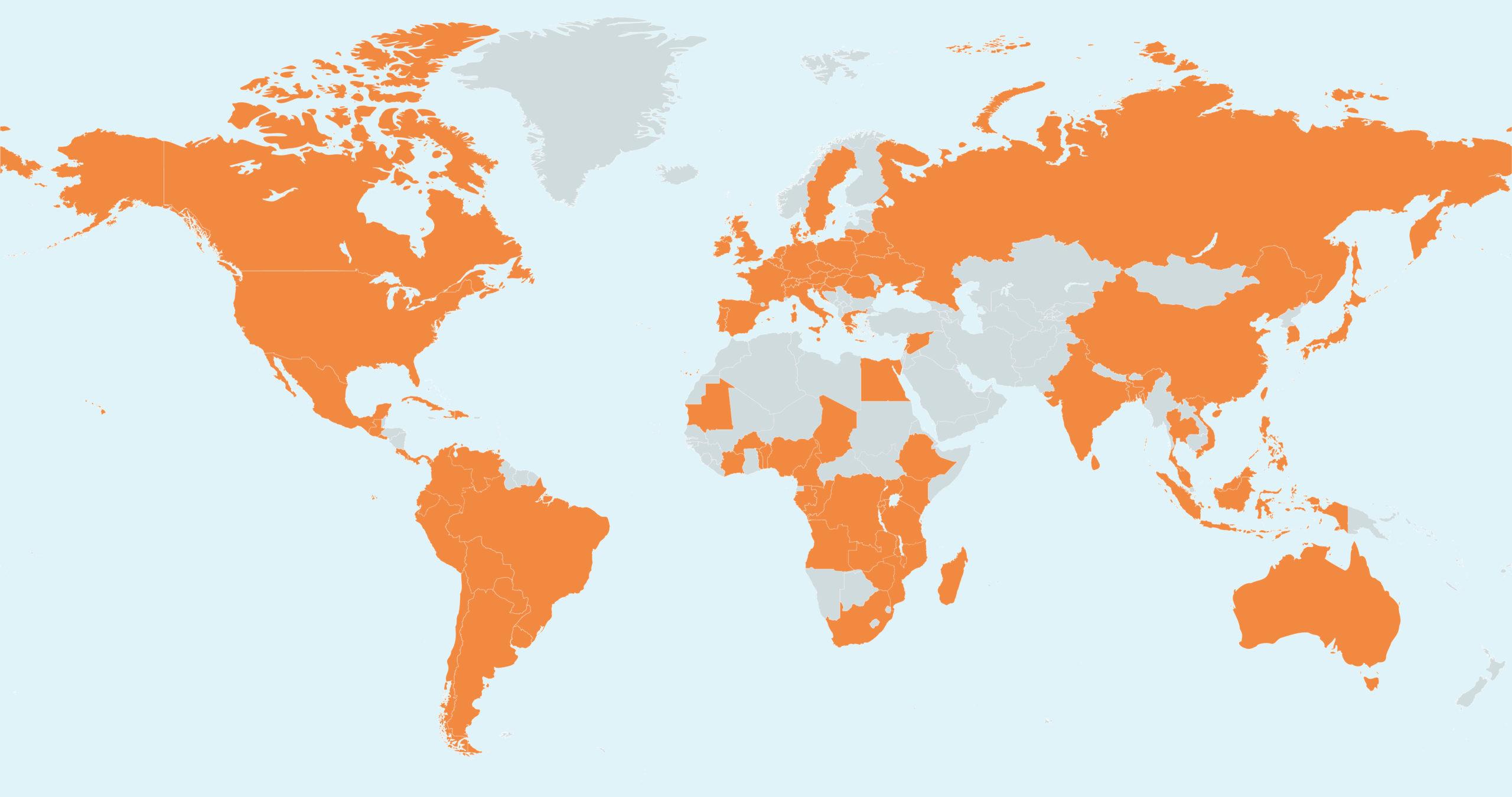 MapChart Map PWPN