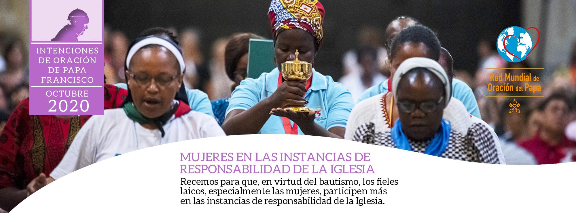 intenciones de oración del papa francisco mujeres octubre 2020