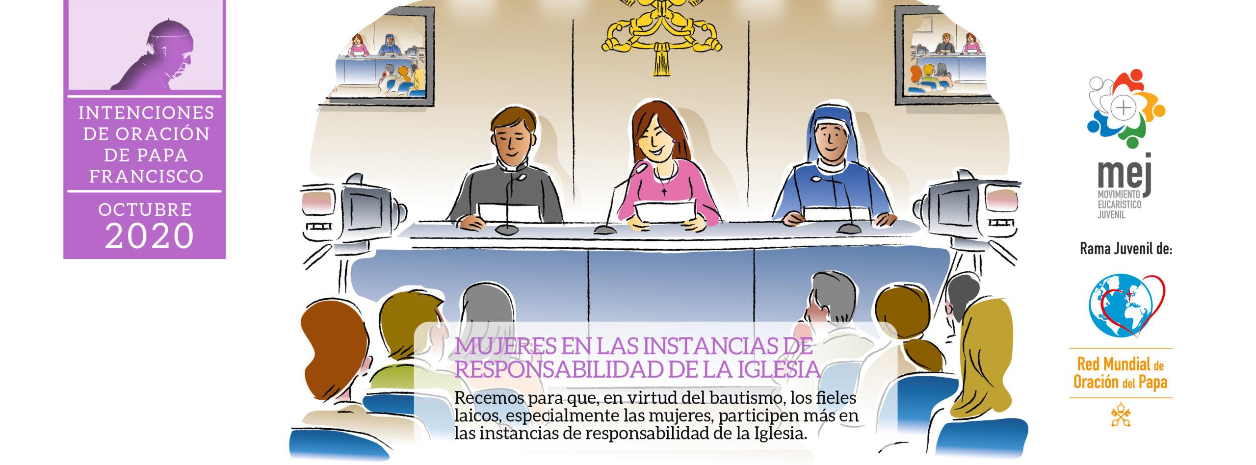 intenciones de oración de papa Francisco octubre 2020 Red Mundial de Oración del Papa