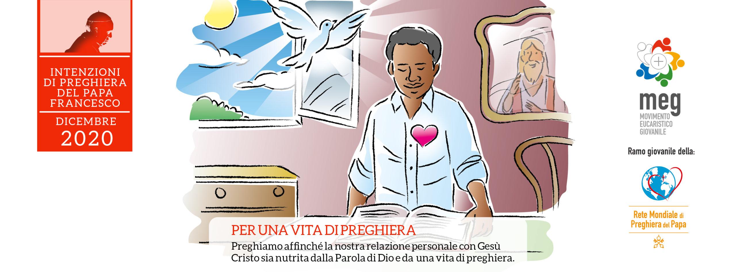 intezione di preghiera dicembre 2020 illustrazione