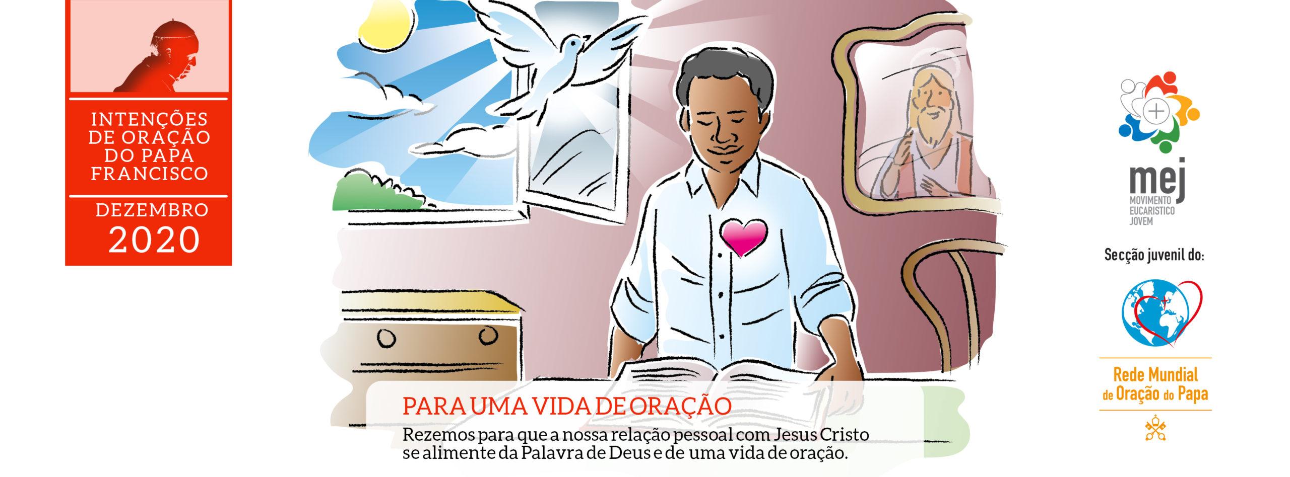 Intenção de oração dezembro 2020 ilustração