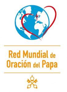 Logo Rete Mondiale di Preghiera del Papa-Pontifical Work-ES-Vertical