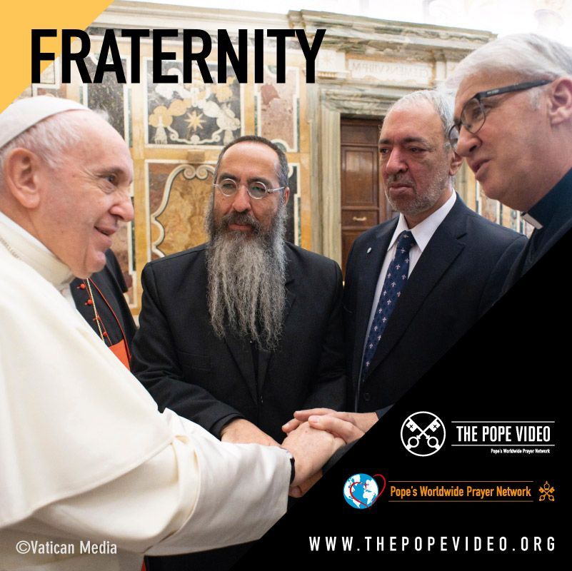 Attitude - TPV The Pope Video - At the service of human fraternity